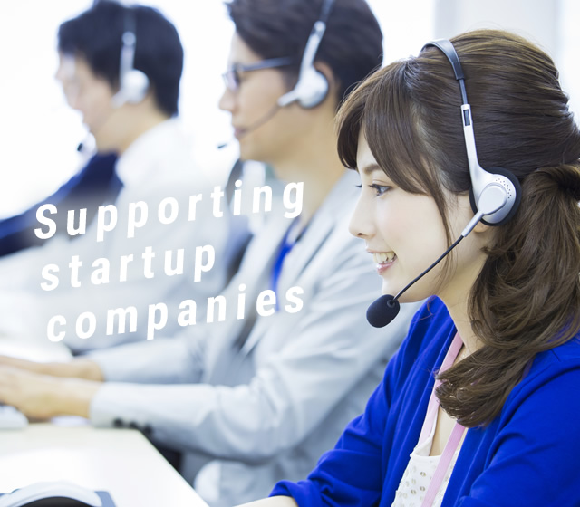 Supportingstartup companies